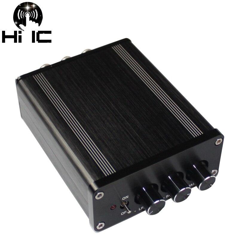 TPA3116 HIFI classe D 2.1 amplificateur numérique Audio Mini NE5532 Subwoofer amplificateurs de puissance haut parleur DC 18 V 24 V 2*50 W + 100 W-in Amplificateur from Electronique    1