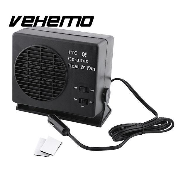 150W 300W Ceramic Auto Car Truck Fan Heater Portable Window Defroster 12V 24V