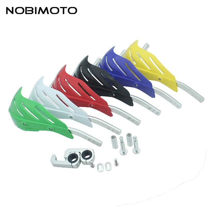 Nouveau Style 2 pièces Moto Protège-mains Protège-mains Protecteurs Moto Motocross Barre Universelle Alliage GZ-115