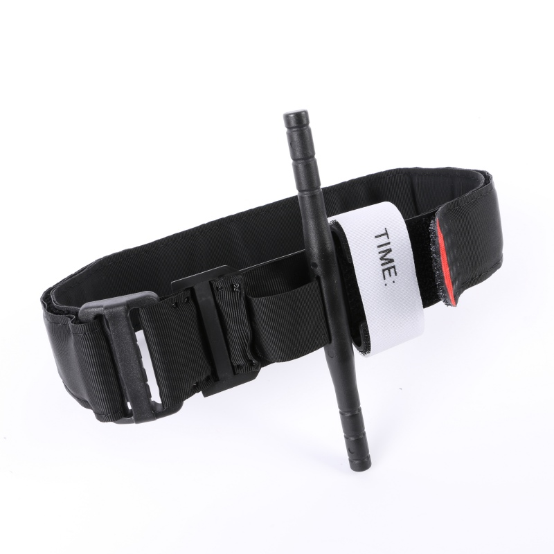 First Aid Quick Slow Release Buckle Medical Military Outdoor Portable Tactical Emergency Tourniquet Strap One Hand