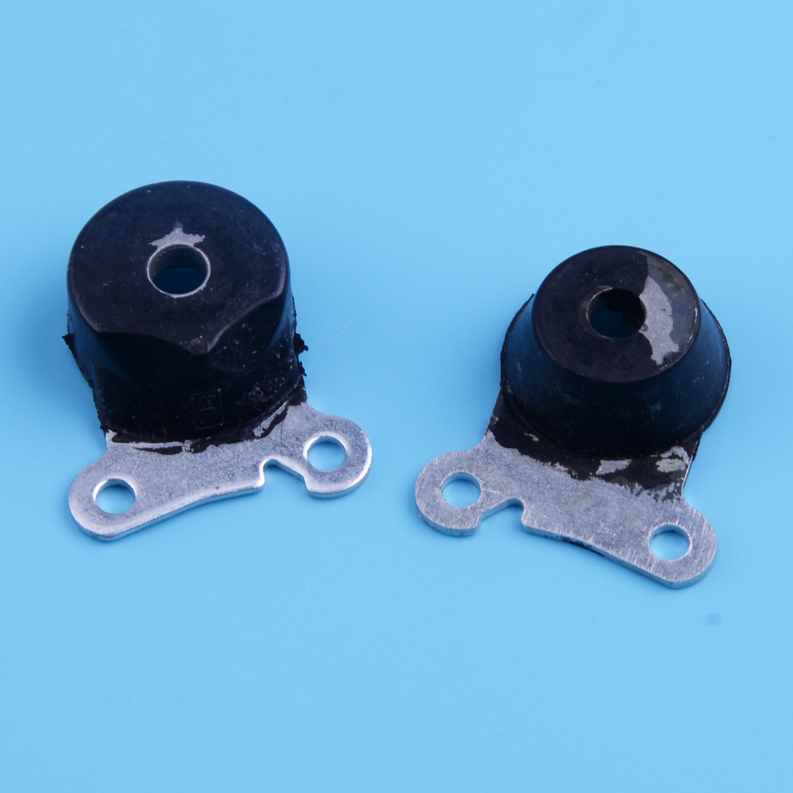 LETAOSK 2pcs Black AV Annular Buffer 1129 790 9900 Fit For Stihl MS200T 020T Chainsaw 1129 790 9902 3.7x3.3x1.2cm