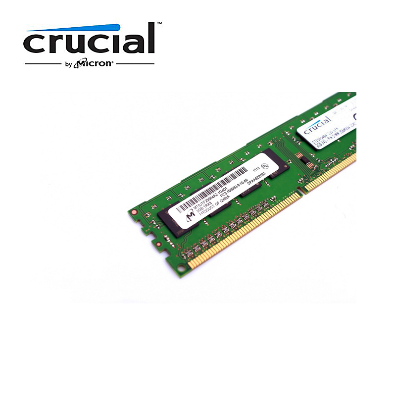 Crucial Desktop Memory RAM with 1GB/4GB/8GB Capacity and 1333MHz/1600MHz Memory Speed 8