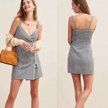 942977821 De las mujeres de la moda Halter rayas de Color Patchwork falda hueco largo  Maxi Vestidos túnica ...