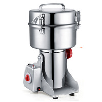Great Value Food Grinder Stainless steel Milling Machine Small Powder Grinding Machine Home Commercial Electric Flour Mill D273