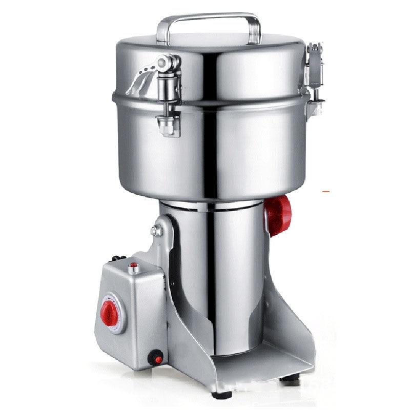Grande valeur broyeur alimentaire en acier inoxydable fraiseuse petite poudre rectifieuse maison commerciale électrique moulin à farine D273