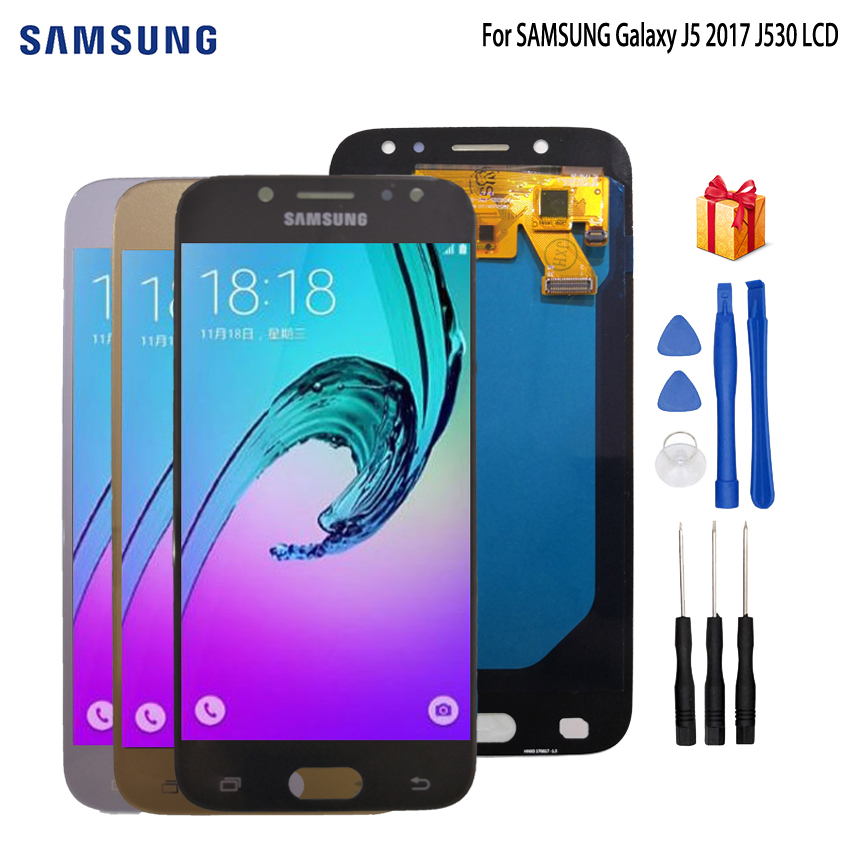 AMOLED For SAMSUNG Galaxy J5 2017 LCD Display Touch Screen Phone Parts For SAMSUNG Galaxy J5