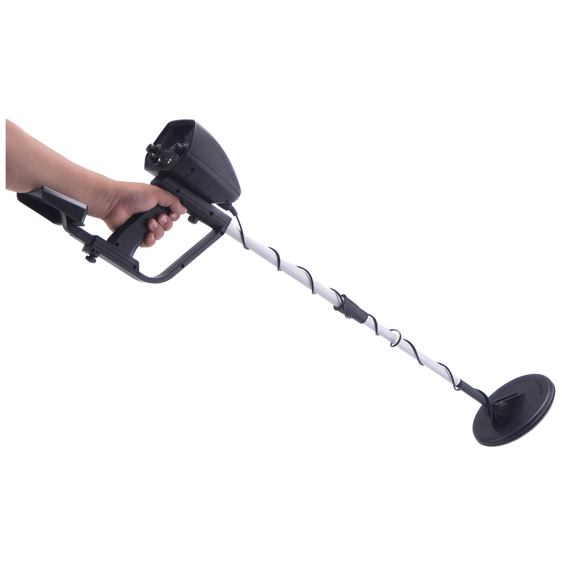 Waterproof Metal Detector Deep Sensitive Search Gold Digger Hunter 6.5 inch MD-4030 Handheld Metal Detector Scanning Gold Hunter professional tx 850 deep penetrating gold nugget hunter pinpointing metal detector 19 khz frequency adjustable position armrest