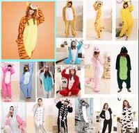 Yeni yetişkin fanila pijama all in one pijama hayvan cosplay yetişkin kış konfeksiyon sevimli karikatür hayvan onesies pijama