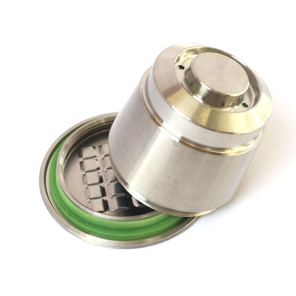 2017 New capsulone Stainless Steel Metal Nespresso Machine Compatible Capsule Refillable Reusable gift Free Shipping