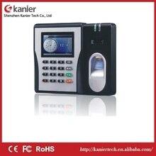 Биометрическая дактилоскопическая система часы-Регистратор посещений Регистраторы сотрудников цифровые электронные английский, испанский, португальский голос на основе снятия отпечатка пальца