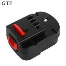 GTF 12V 3.0Ah Rechargeable Battery for Black Decker Drill A12 A12EX FSB12 FS120B A1712 HP12K HP12 Ni-MH Replacement Tool