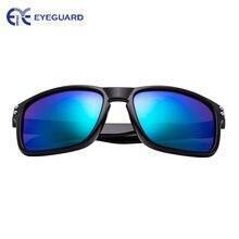 Поляризованные солнцезащитные очки для мужчин с зеркальными