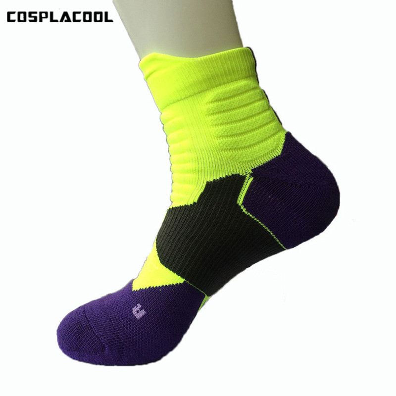 [COSPLACOOL]High Quality Unisex Meias Adult Harajuku Compression Socks Spandex Elasticity Moisture Protect Calcetines Hombre ...
