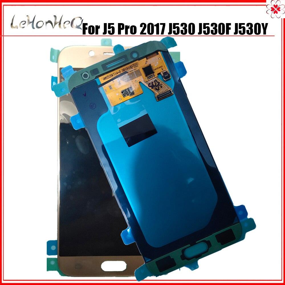 100% nouveau Super AMOLED écran LCD pour Samsung Galaxy J5 Pro 2017 J530 J530F J530Y LCD écran tactile numériseur assemblée