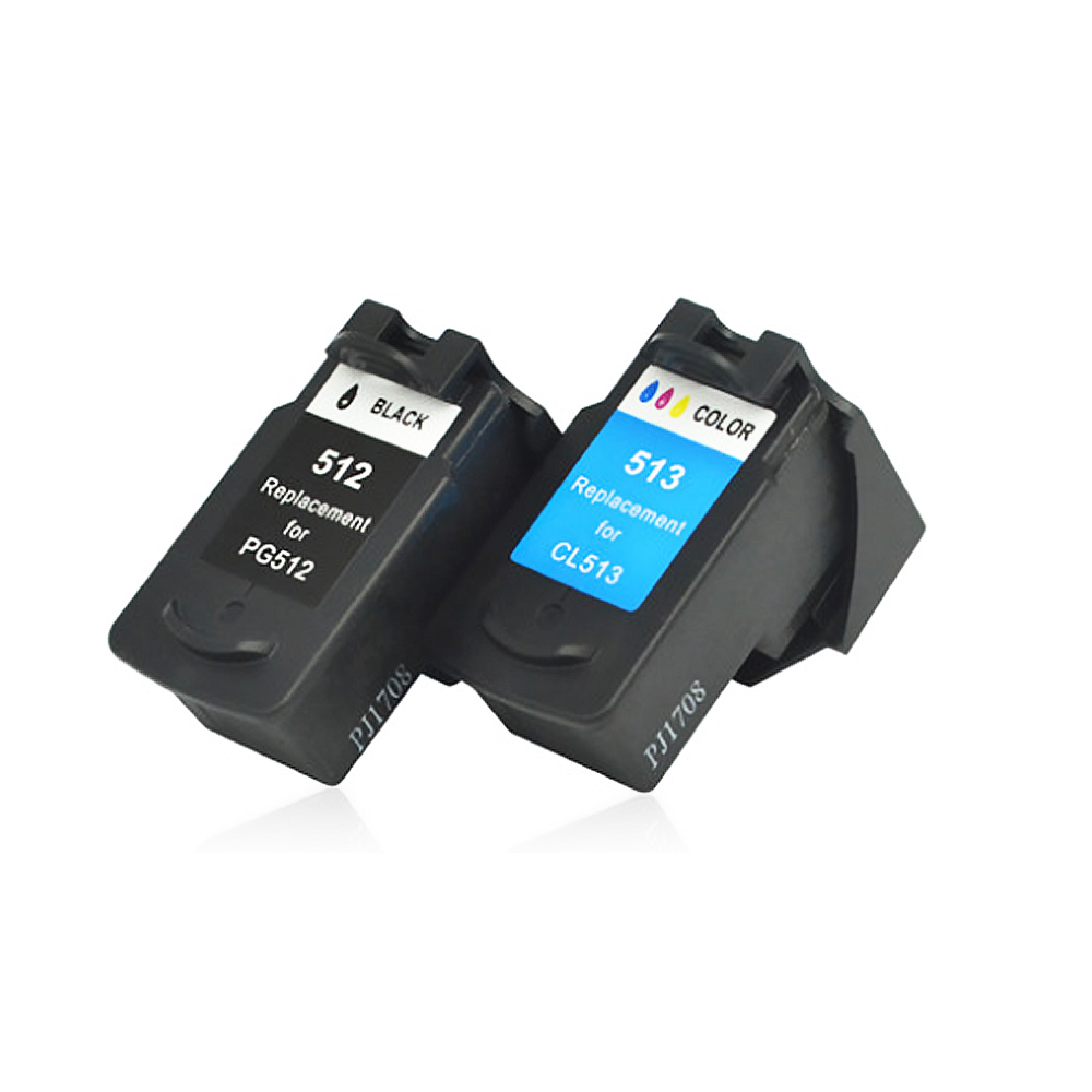 Image 5 - YLC Compatible PG512 CL513 for Canon pg 512 cl 513 ink cartridge for Pixma MP230 MP250 MP240 MP270 MP480 MX350 IP2700 printer-in Ink Cartridges from Computer & Office
