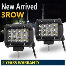 Со светом 1 пара 36 Вт 72 Вт туман работы лампы светодиодные 4×4 9-32 В 6000 К для добычи фермы лодки ATV UTV внедорожник 4WD Грузовик Offroad автомобиля