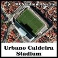 Clever&Happy 3D puzzle football stadium Urbano Caldeira stadium  puzzle model Games Brazil Stadium souvenir Toys