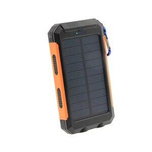 Image 4 - LiitoKala Lii D007 przenośny Powerbank solarny 20000 mah dla Xiaomi 2 Iphone bateria zewnętrzna Powerbank wodoodporny podwójny USB