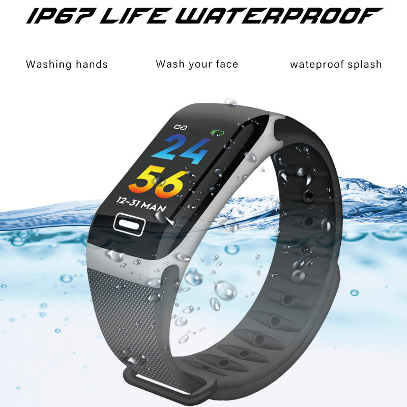 Image 3 - LIGE New Smart Bracelet Health Monitor Heart Rate / Blood Pressure / Waterproof Pedometer Sports Bracelet For Men Women's Watch-in Smart Wristbands from Consumer Electronics
