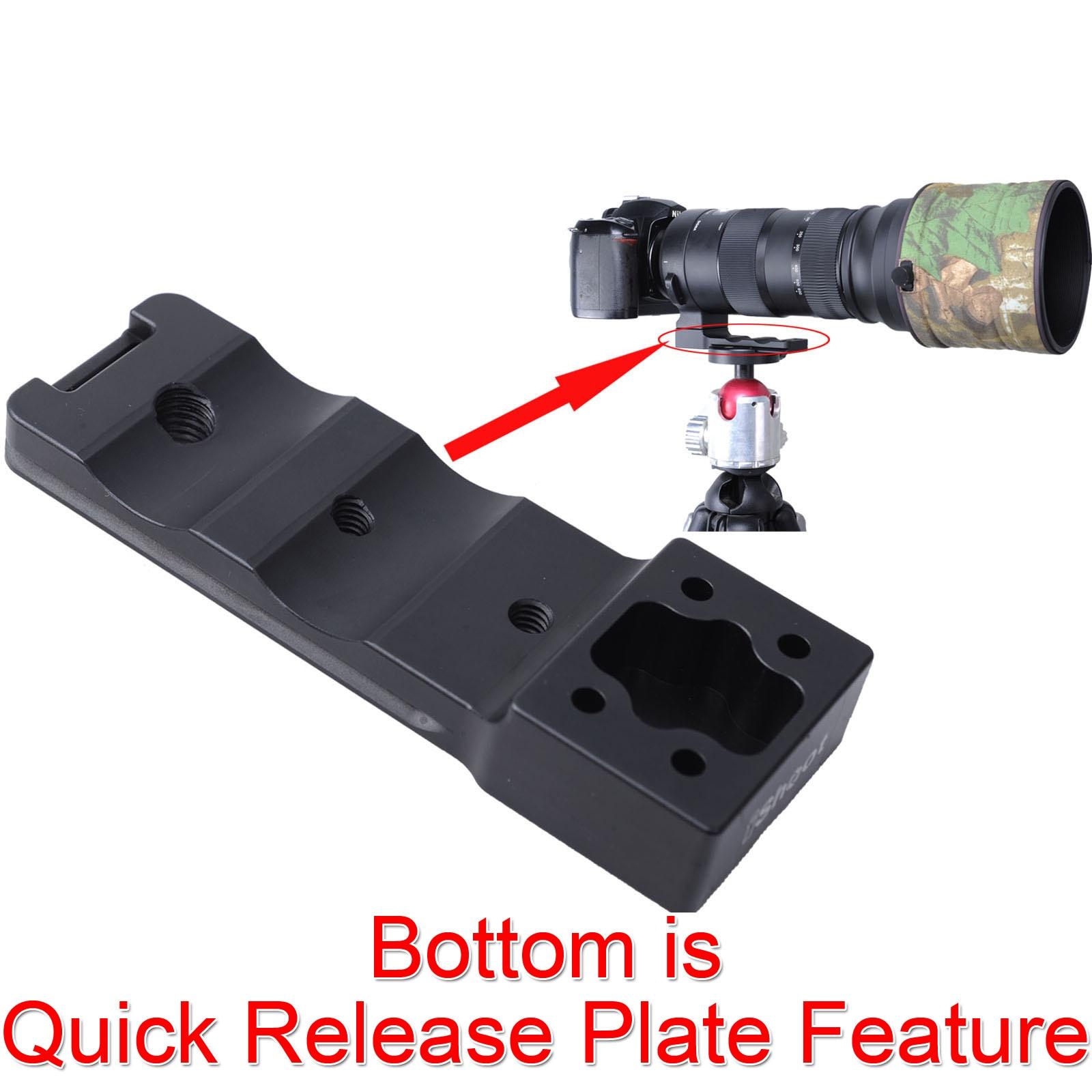 Lens Support Collar Foot Tripod Mount Ring Quick Release Plate Stand Base Replacement fr Sigma 150-600mm F5-6.3 DG OS HSM Sports sigma sigma 150 600mm f5 6 3 dg os hsm contemporary полнокадровой телефото зум объектив для съемки птиц лотоса canon байонет