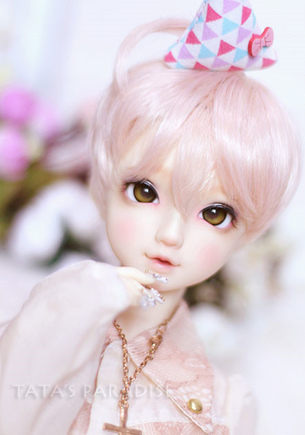 1/3 1/8 Bjd Sd Dd Uncle Doll Wigs Pink Short Hairs Natural Soft Wigs High Temperature Wire Doll Accessories To Rank First Among Similar Products