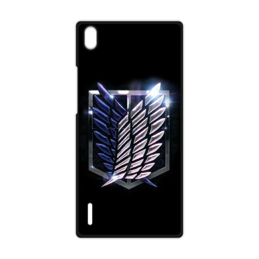 Anime Attack on Titan Hard Coque Cover Case for Huawei Ascend P7 P8 P9 P10 Lite P9 P10 Plus for Xiaomi Redmi 2 3 3S Note 2 3 4