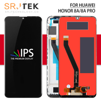 Srjtek For Huawei Honor Glory 8A LCD Touch For Honor Play 8A Display Screen Glass Panel For Honor 8A/8A Pro Display Sensor Frame