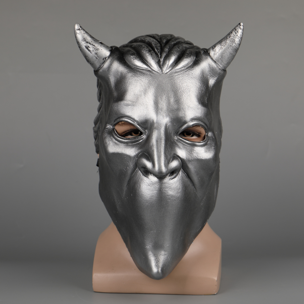 Ghost Nameless Ghoul Mask Cosplay Ghost B.C Rock Roll Band Latex Helmet Masks Halloween Party Props DropShipping (25)