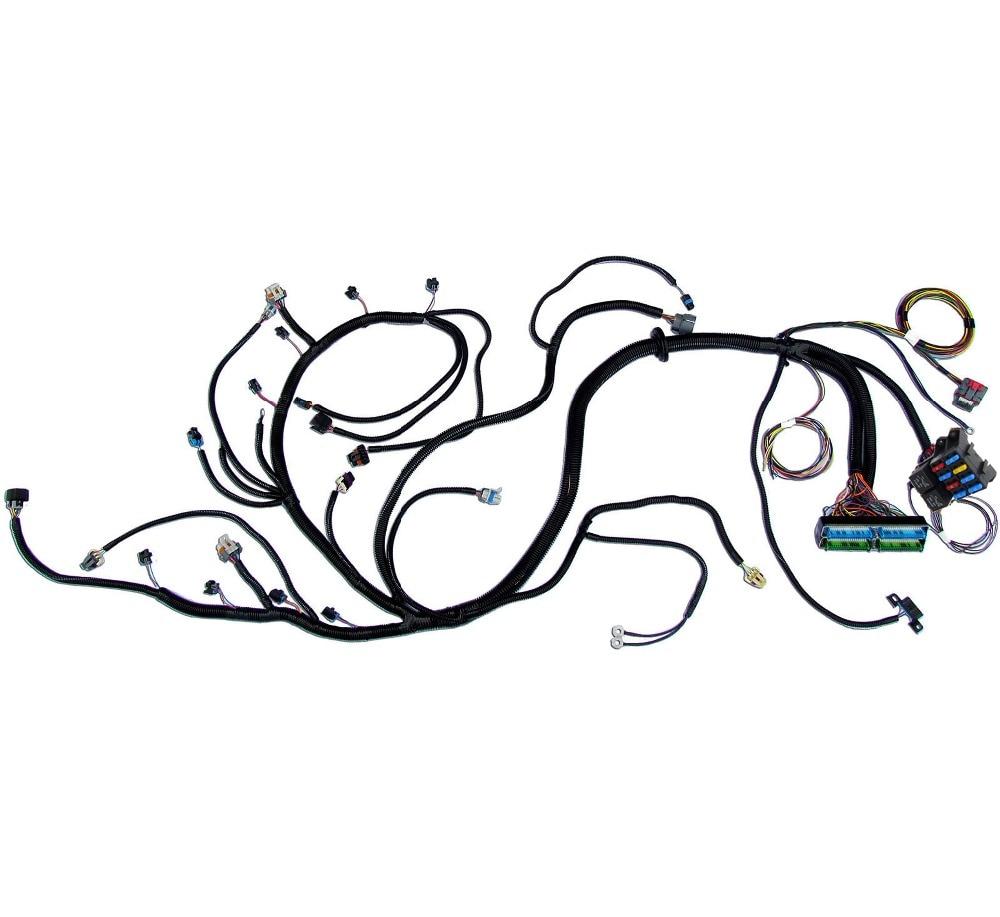 03 07 vortec chevy standalone wiring harness w  4l60e dbw ev6 fuel injectors  flex fuel  5 3 6 0