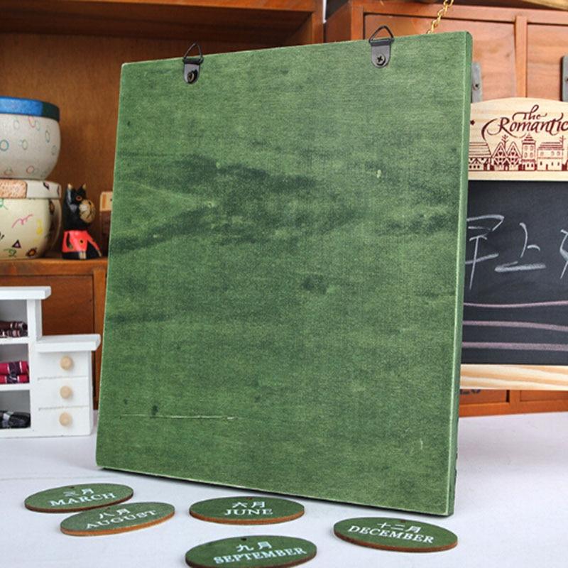 Ultimate SaleæCalendar-Board Decoration Classroom Wooden School Home Puzzles Gift Dates Quiz DIY OfficeÈ