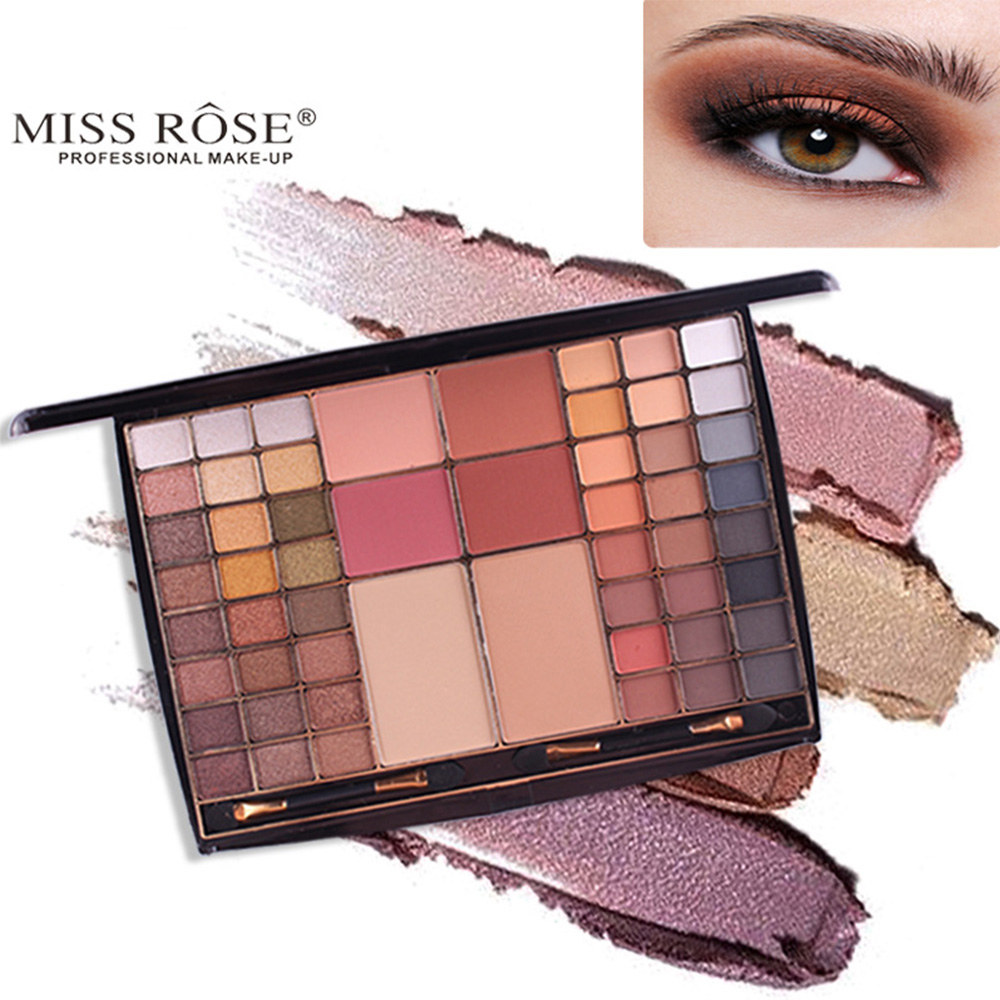 Spring 48 Color 3D Matte Eyeshadow Palette Women Cosmetic