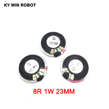 5pcs/lot New Ultra-thin Mini speaker 8 ohms 1 watt 1W 8R Diameter 23MM 2.3CM thickness 5MM