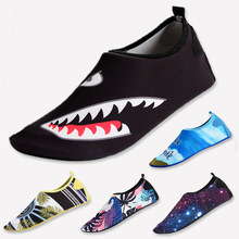 Unisex Summer Water Shoes Men Women Swim Aqua Beach Soft Big Plus Size Sneaker Sea zapatos hombre Light Shark