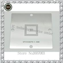 E7/E16 трафарет MPC561/562/555 для NEC и BGA Процессор чип натыкаясь со стальной сетки 0,6 мм