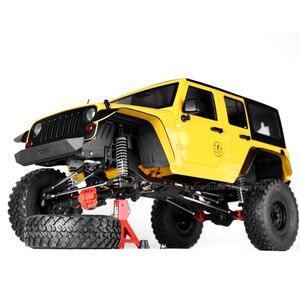 Image 5 - Черные пластиковые передние и задние щитки от грязи INJORA, брызговик для 1/10 RC Crawler Axial SCX10 II 90046 90047