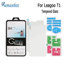 Remanbor For Leagoo T1 Tempered Steel Film Front Glass Protective Replacemant for Leagoo T