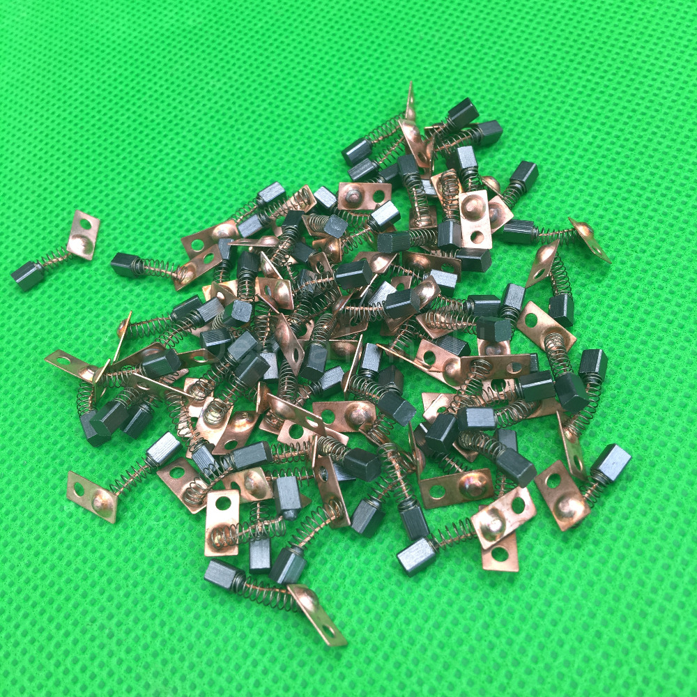 20pcs Electric Motor Carbon Brushes Replace For/Saeyang Series Dental Grinding Machine Micromotor Handpiece 3*3*4mm