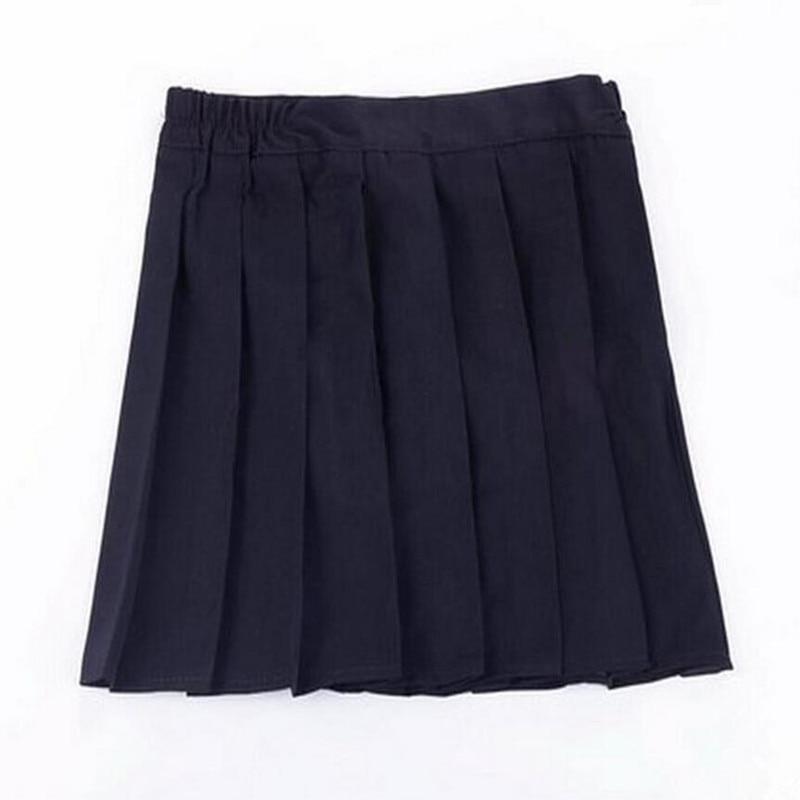 Hot nouveau japonais lycée fille jupes plissées JK étudiant jupe plissée Cosplay école uniforme jupe S002