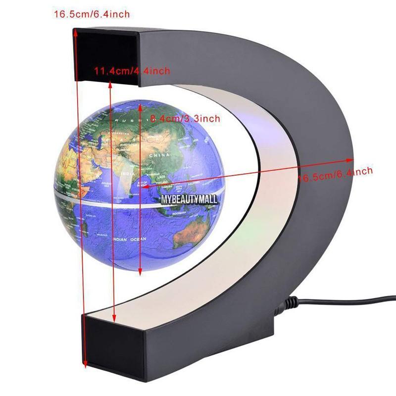 C-Shape-LED-World-Map-Floating-Globe-Tellurion-Magnetic-Levitation-Light-Antigravity-magic-novel-light-Home