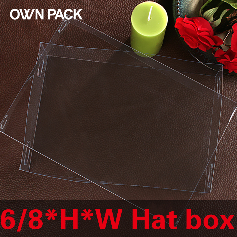 Direct Selling clear box 10pcs/lot 6*H*W hat box / display case / gifts & crafts/gifts box wedding gifts for guests/ clear box