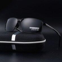 Bruno Данн унисекс Классический бренд Для мужчин алюминиевые солнцезащитные очки HD поляризованные UV400 зеркало мужские солнцезащитные очки Для женщин для Для мужчин Oculos de sol masculino