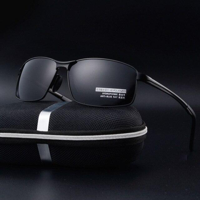 f524498ad9 Bruno dunn Unisex Classic Brand Men Aluminum Sunglasses HD Polarized UV400  Mirror Male Sun Glasses Women For Men Oculos de sol