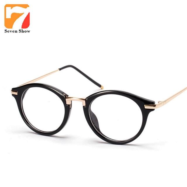 Luxury Brand Eyeglasses Retro Glasses Frames Women Clear Lens ...