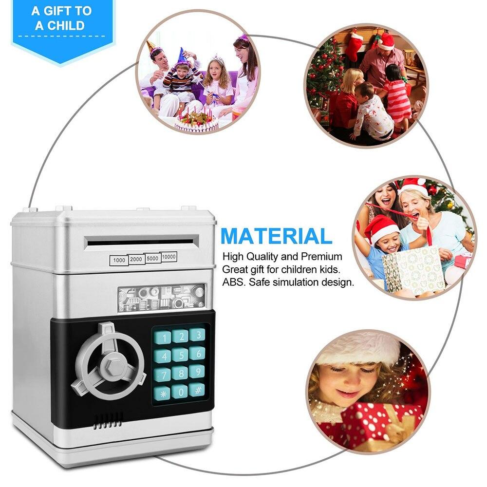 Electronic Piggy Bank Safe Box Money Boxes for Children Digital Coins Cash Saving Safe Deposit Mini ATM Machine Kid Gift ATM-ZH (2)