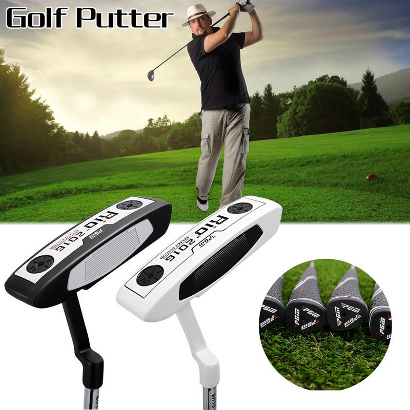 PGM Golf Sports Clubs Golf Putter Push Rod Design Basic Stainless Steel Grinding Head Right Hand Golf Putter Accessory Sets