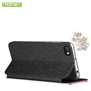 Image 3 - Original MOFi For Xiaomi Redmi 6A Case Redmi 6 TPU Leather Flip Cover Business Case Silicon Protect Luxury For Redmi 6 Pro Case