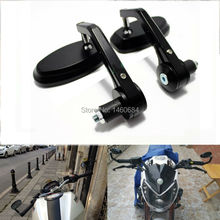 Motorcycle Mirror Motorcycle Bar Mirrors 7 8 For BMW Ducati Aprilia Cafe Racer Victory Triumph Daytona