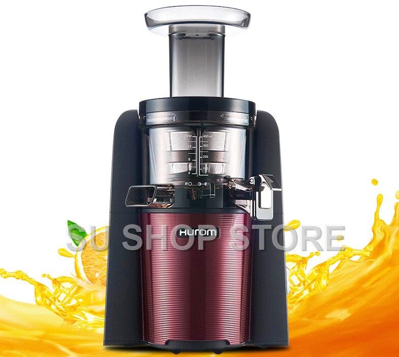 hurom slow Juicer hu 600wn Fruits Vegetable Low Speed Juice extractor 100