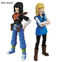 Hazy beauty Dragon Ball Z Figure Rise Standard Android NO.17&NO.18 Figure Juguetes Brinquedos Dolls Toys Figuras