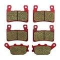 BRAKE PADS Front+Rear FOR HONDA CBR 900/929/954 RR,CBR 600 RR,RVT 1000 R / RC51,CB 1300,VTR 1000 SP CARBON CERAMIC High-Quality